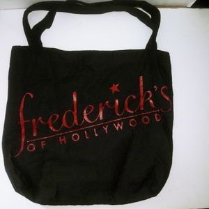 Fredericks of Hollywood tote bag